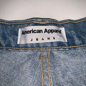 American Apparel Shorts - American apparel jean shorts